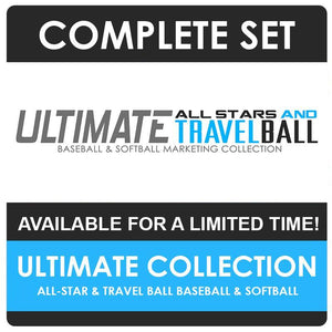 Ultimate All Star & Travel Ball Marketing Collection-Photoshop Template - Photo Solutions