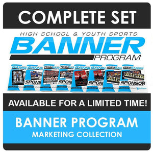 Game Day Banner & Team Marketing Kit Downloadable Template Photo Solutions PSMGraphix