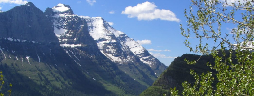 U-Valley in Glacier National Park.