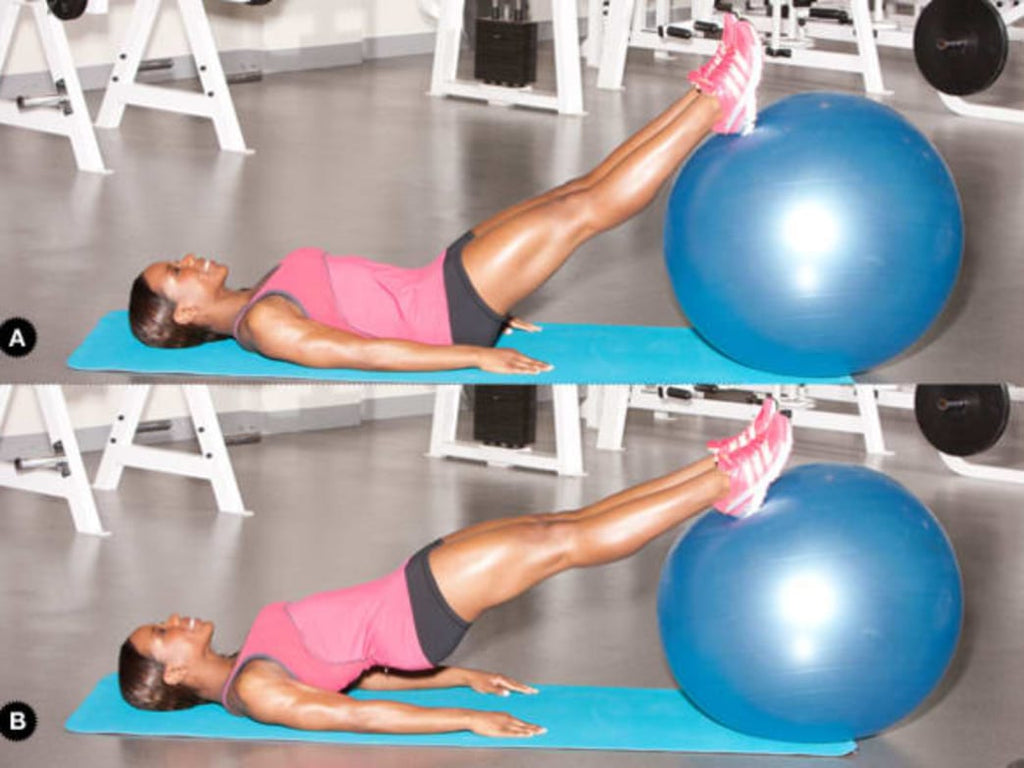 20 Minute Stability Ball Workout You Can Do At Home