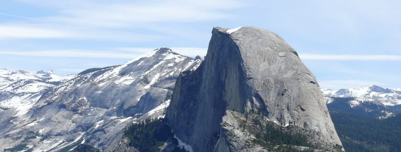 Half Dome at Yosemite National Park.