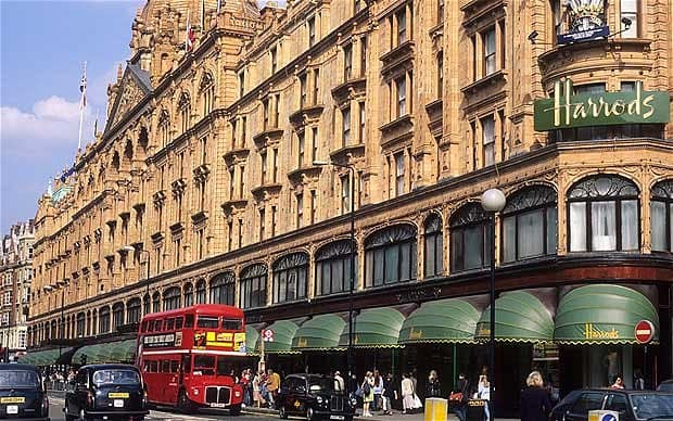 Harrods in Knightsbridge