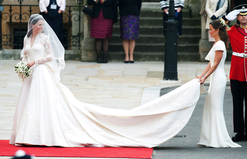 HRH The Duchess of Cambridge Alexander McQueen Wedding Dress