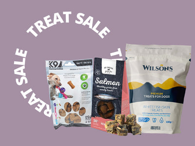 Our Dog Treat Sale