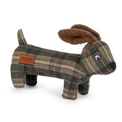 Ancol Heritage Tweed Hare Dog Toy - Jacks Pet and Country