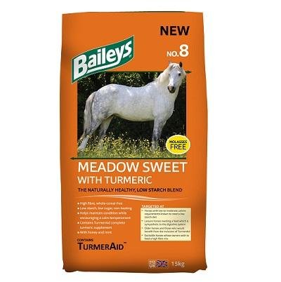 Baileys No. 8 Meadow Sweet with Turmeric 15kg - Jacks Pet and Country