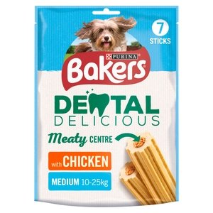 Bakers Dental Delicious Chicken Medium Treats - Jacks Pet and Country