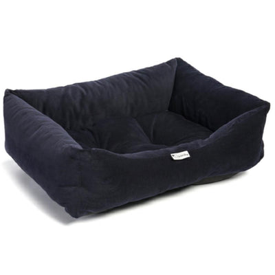 Chilli Dog Navy Cord Large Sofa Bed - Jacks Pet and Country