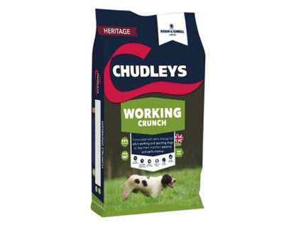 Chudleys Working Dog Crunch Chicken 15kg - Jacks Pet and Country