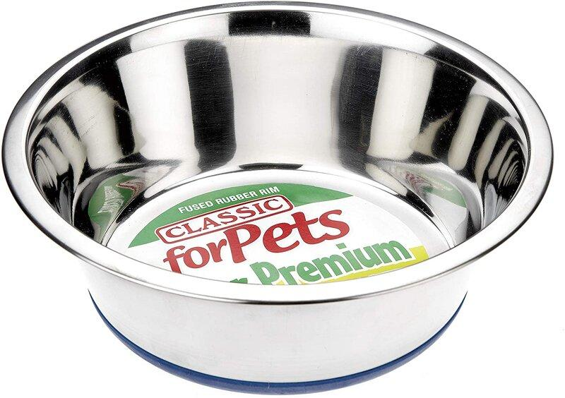 Classic S Steel Non-Slip Dish - Jacks Pet and Country