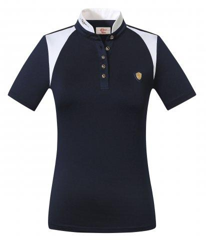 Covalliero Competition Shirt Navy - Jacks Pet and Country
