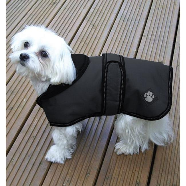 Danish Design Luxury Ebony Dog Coat 25cm - Jacks Pet and Country
