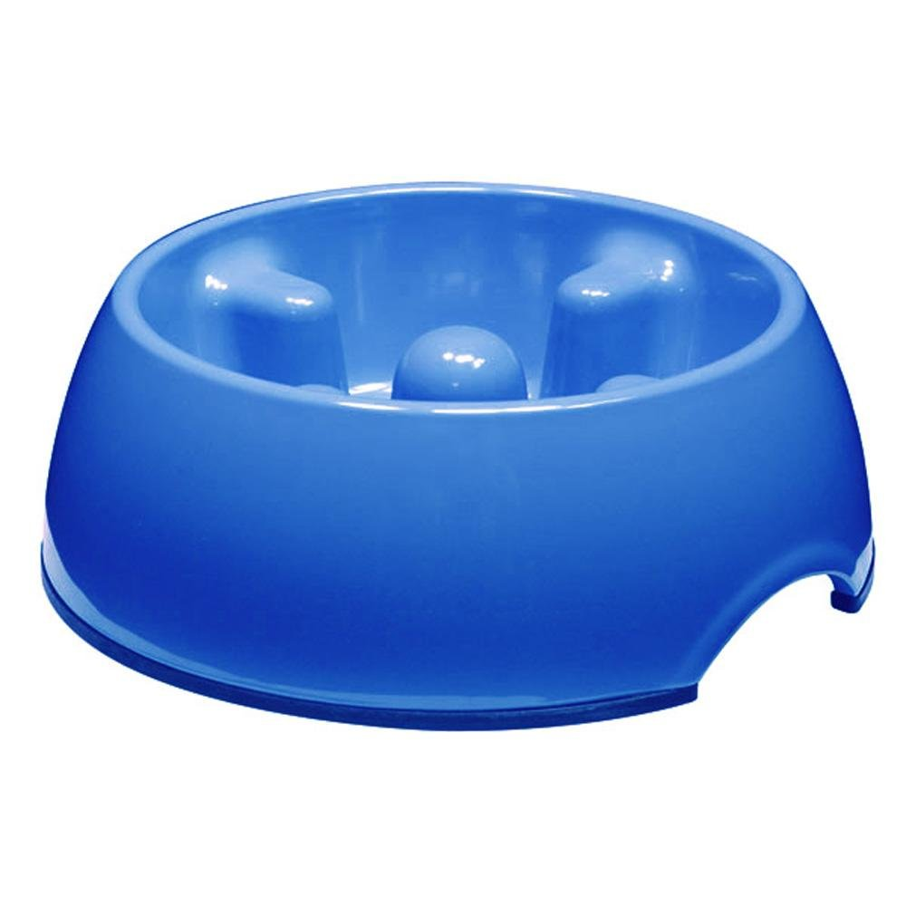 Dogit Anti Gulping Bowl Blue - Jacks Pet and Country