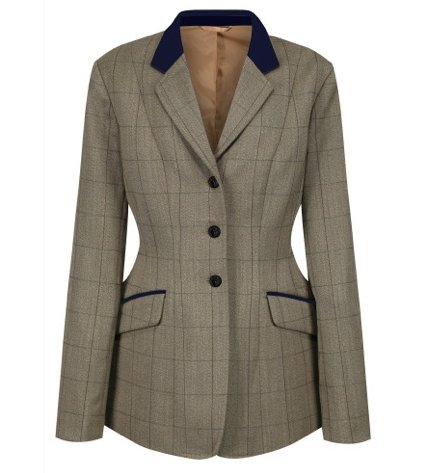 Equetech Foxbury Deluxe Tweed Riding Jacket - Jacks Pet and Country