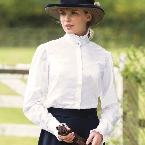 Equetech Frilly Show Shirt - Jacks Pet and Country