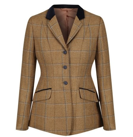 Equetech Studham Deluxe Tweed Riding Jacket - Jacks Pet and Country