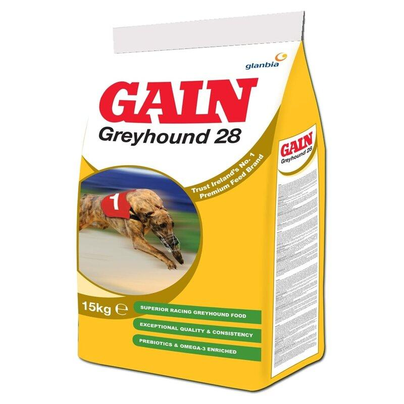 Gain Greyhound 28 - 15kg - Jacks Pet and Country