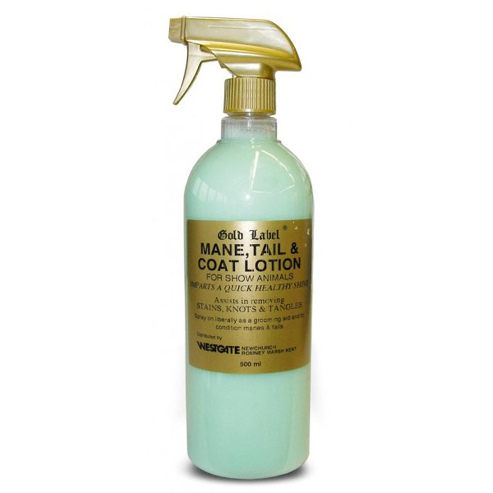 Gold Label Mane & Tail Lotion 500ml - Jacks Pet and Country