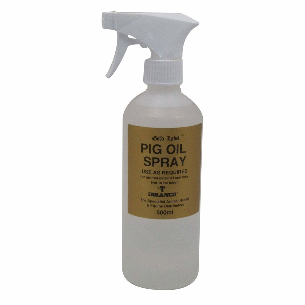 Gold Label Pig Oil Spray 500ml - Jacks Pet and Country
