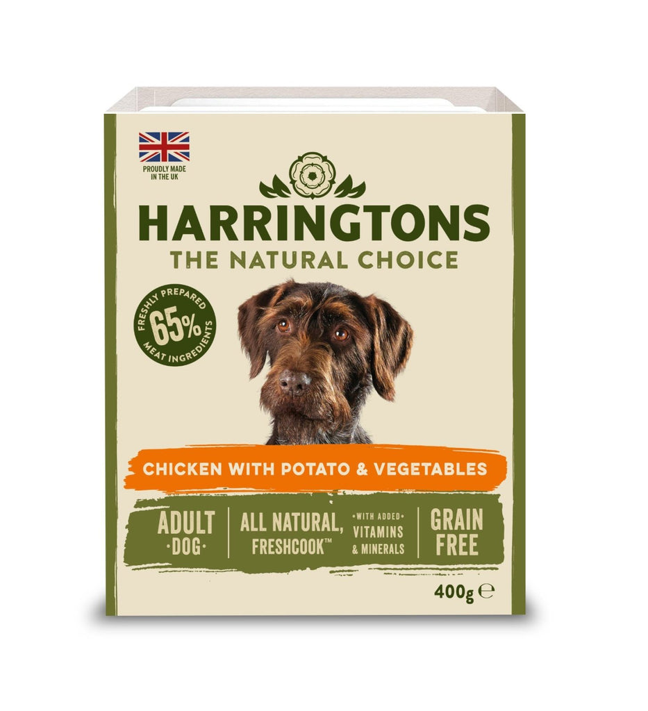 Harringtons Wet Chicken & Potato Trays (Various Sizes) - Jacks Pet and Country