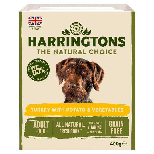 Harringtons Wet Turkey & Potato Trays (Various Sizes) - Jacks Pet and Country