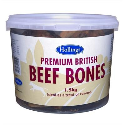 Hollings Premium British Beef Bones 1.5kg - Jacks Pet and Country