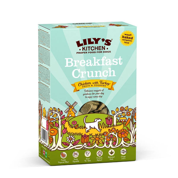 Lily's Kitchen Breakfast Crunch Dog Food (Various Sizes) - Jacks Pet and Country