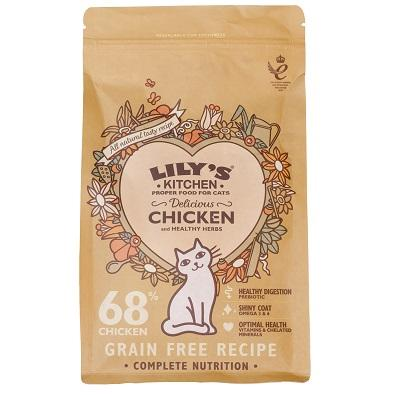 Lily's Kitchen Delicious Chicken Dry Cat Food 2kg - Jacks Pet and Country