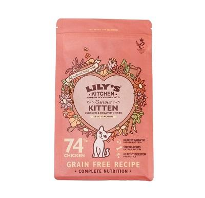 Lily's Kitchen Kitten Chicken Dry Food 800g - Jacks Pet and Country