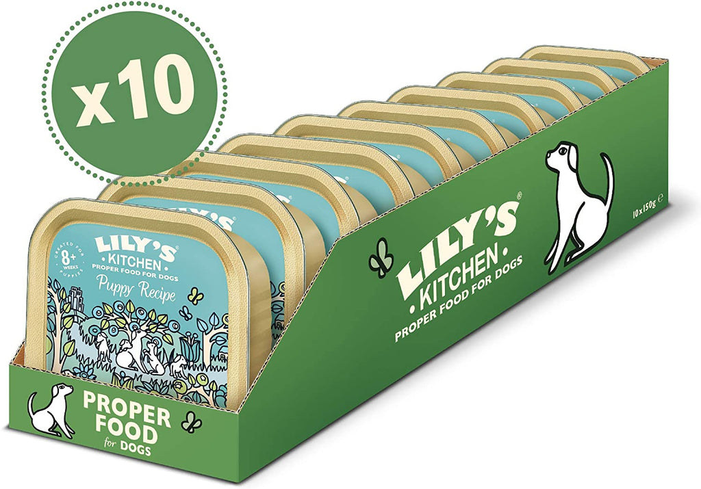 Lily's Kitchen Puppy Recipe With Turkey, Duck and Kale Wet Dog Food (Various Sizes) - Jacks Pet and Country
