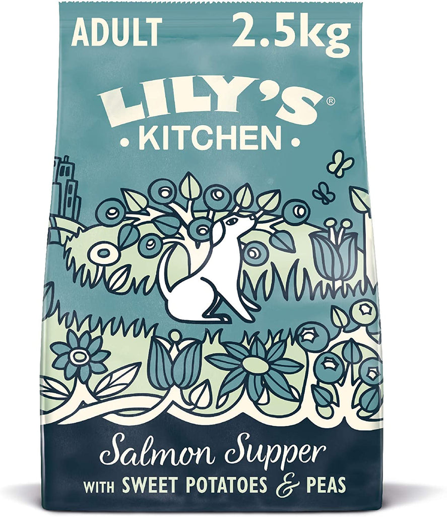 Lily's Kitchen Salmon Supper Adult Dry Dog Food (Various Sizes) - Jacks Pet and Country