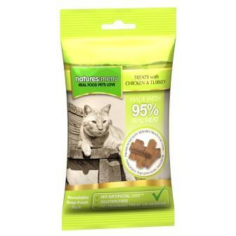 Natures Menu Chicken & Turkey Cat Treats 60g - Jacks Pet and Country