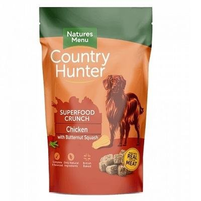 Natures Menu Country Hunter Superfood Crunch Chicken with Butternut Squash - Jacks Pet and Country