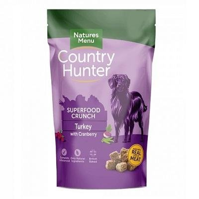 Natures Menu Country Hunter Superfood Crunch Turkey with Cranberry - Jacks Pet and Country