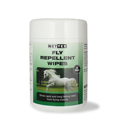 Net -Tex Fly Repellent Wipes 50 Wipes - Jacks Pet and Country