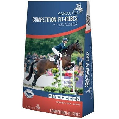 Saracen Competition Fit Cubes 20kg - Jacks Pet and Country