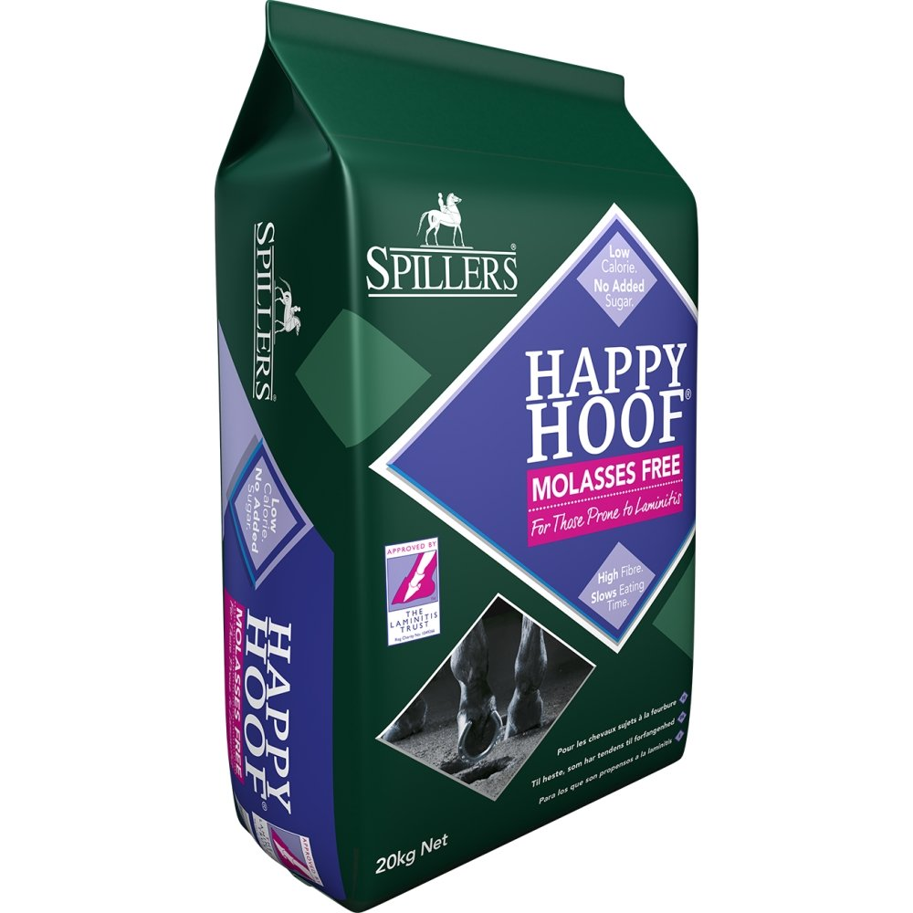 Spillers Happy Hoof Molasses Free 20kg - Jacks Pet and Country