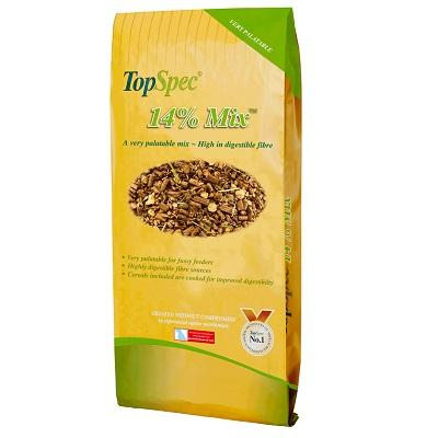TopSpec 14% Bespoke Horse Mix 20kg - Jacks Pet and Country