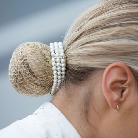 Triple Pearl Bun Ring - Jacks Pet and Country