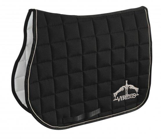 Veredus Saddle Cloth Black & Ivory - Jacks Pet and Country