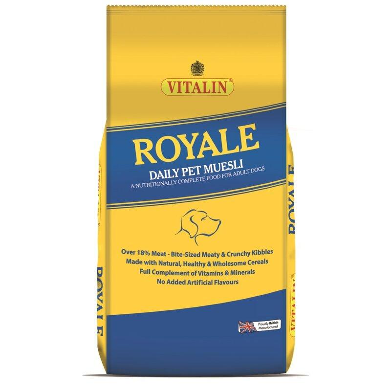 Vitalin Royale Working Dog Food 15kg - Jacks Pet and Country