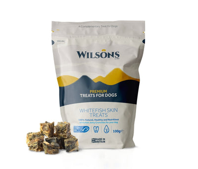 Wilsons Whitefish Skin Dog Treats - Jacks Pet and Country