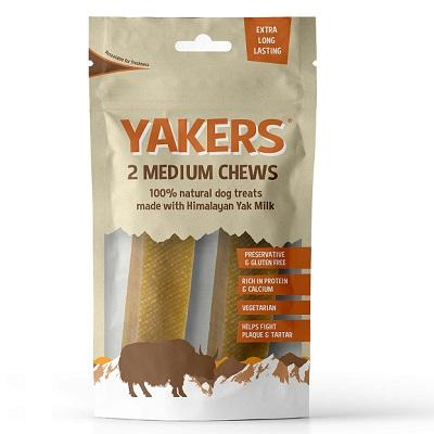 Yakers Dog Chew Medium 2 Pack - Jacks Pet and Country