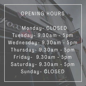 Opening times for Auburn Fox Home & Interiors in Thrapston.