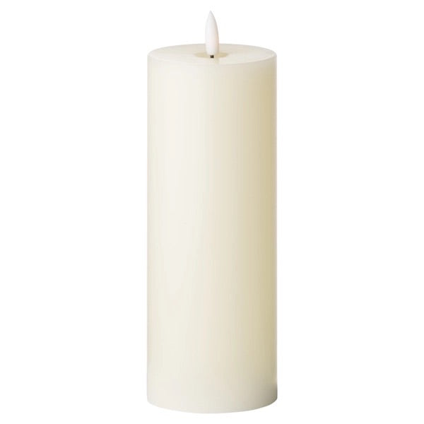 Luxe Collection LED Real Wax Ivory Candle [Large]