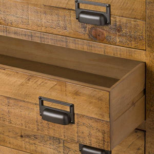 Alexander 6 Drawer Chest. Close up of open drawer.