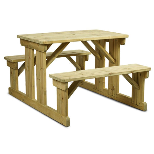 Bison Picnic Table (6 or 8 Seats)