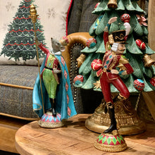 Load image into Gallery viewer, Dancing Nutcracker Figurine lifestyle image.