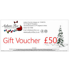 Load image into Gallery viewer, Auburn Fox Christmas Gift Voucher