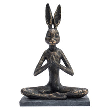 Load image into Gallery viewer, Yoga Bunny Praying Position.